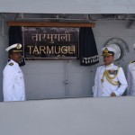 Fast Attack Craft INS Tarmugli joins the Indian Navy