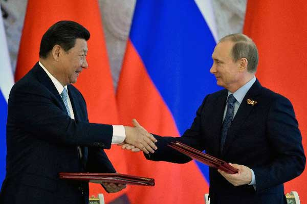 Global Balance of Power 2017 weighted heavily against China-Russia Nexus