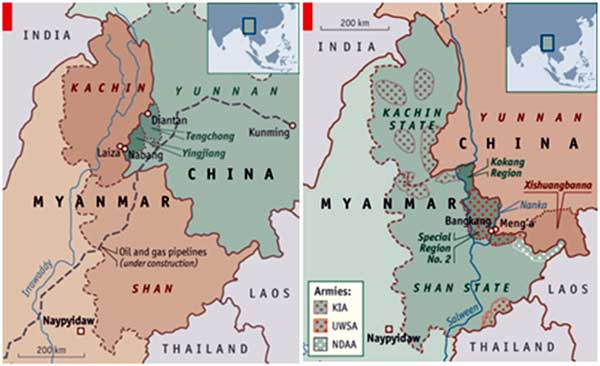 Growing Chinese presence in Myanmar has security implications for India