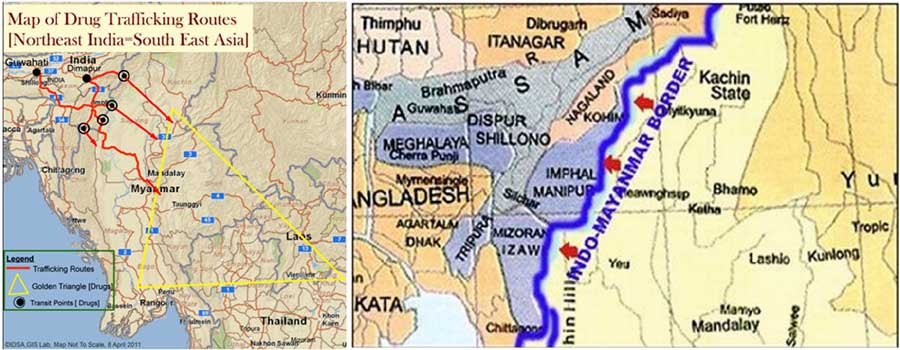 China india myanmar the forgotten frontier indian defence review the gumiabroncs Images