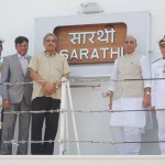 Indian Coast Guard Ship 'Sarathi': Third Ship in the Series of Six Offshore Patrol Vessels (OPV)