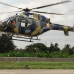 HAL Conducts Technical Flight of Indigenous Light Utility Helicopter (LUH)