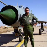 The Chief of the Air Staff, Air Chief Marshal BS Dhanoa flies MiG-21 type-96 solo at a Forward Base