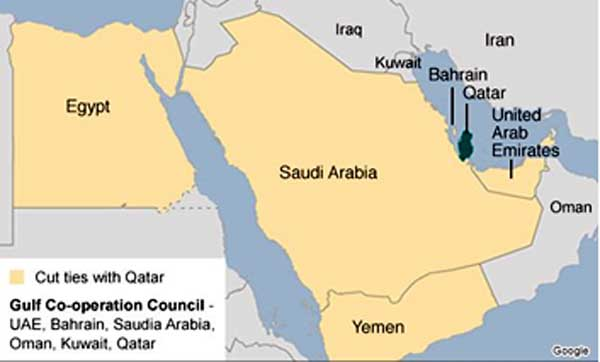 Middle East Boils Over Qatar Indian Defence Review