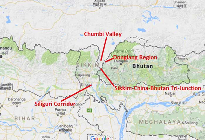 Chinese Doklam Standoff very different from previous Border Disputes