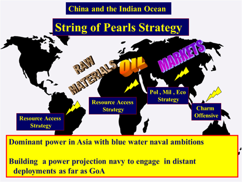 the string of pearls strategy history essay Chapter i introduction string of pearls china's string of pearls strategy is the name given to a geopolitical strategy adopted by china arising as foreign oil the american decision to use the two atomic bombs on the japanese cities of hiroshima and nagasaki at the end of world war ii has .