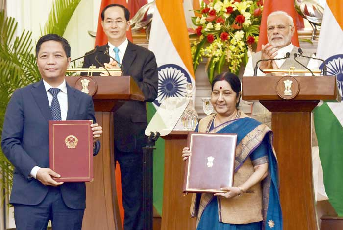 Intensifying India Vietnam Strategic Partnership