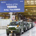 Tata Motors celebrates the roll-out of its 1500th GS800 Safari Storme for...