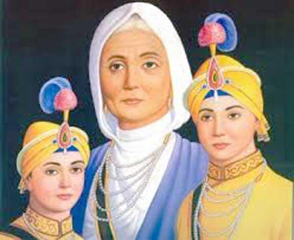 The story of Sahibzada Zorawar Singh and Sahibzada Fateh Singh