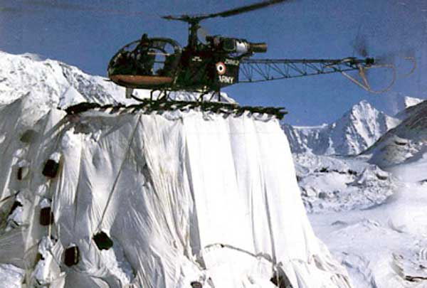 Helicopter Recovery from Siachen
