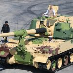 Defence Minister flags-off 51st K9 VAJRA-T Gun from L&T's Armoured System