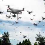 Drone Swarms as Air Defence Systems