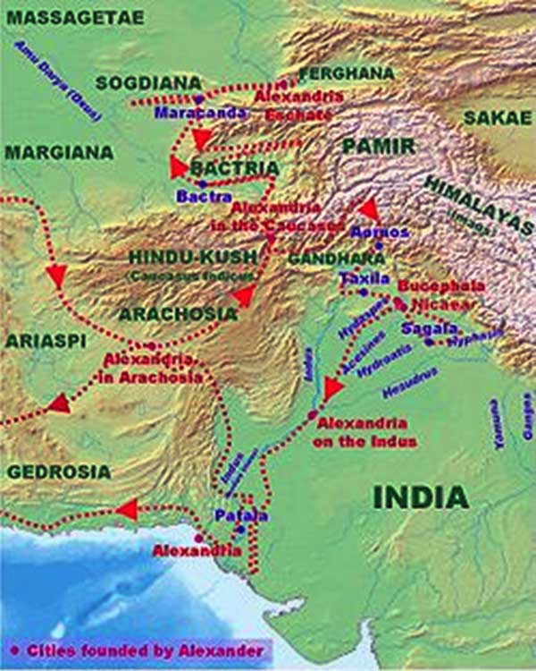 Alexander The Great's India Campaign - Some Lore and Some Facts