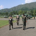 Indian Army Chief's significant visit to Kashmir