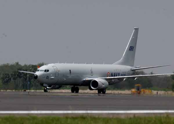 P8I makes its maiden landing at INS Rajali