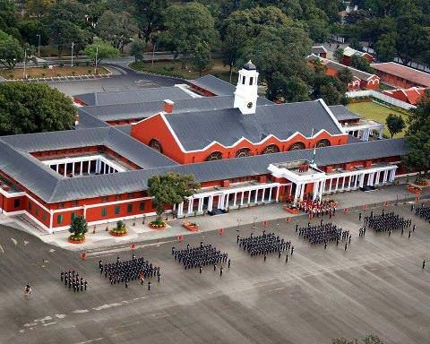 Beautiful Aerial View of Chetwode Building