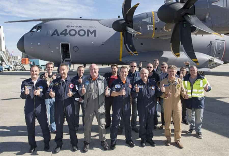 Airbus Military A400M development fleet makes 2000th flight