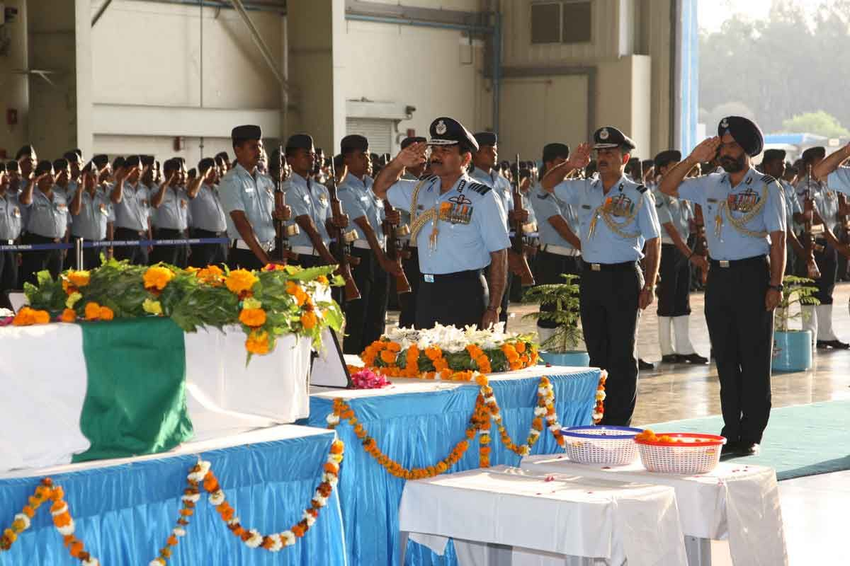 Last respects to the Crews of C-130J