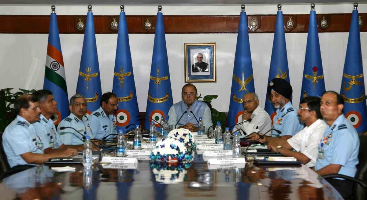 Chief of the Air Staff briefs Defence Minister