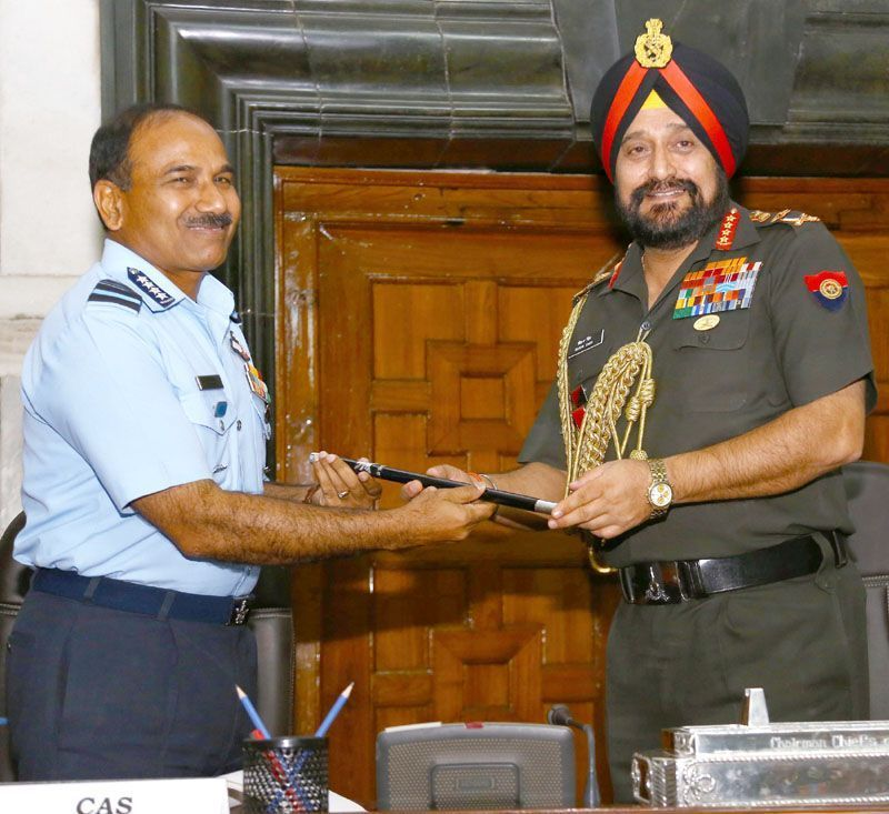 Air Chief Marshal Arup Raha, new Chairman, Chief of Staff Committee (COSC)