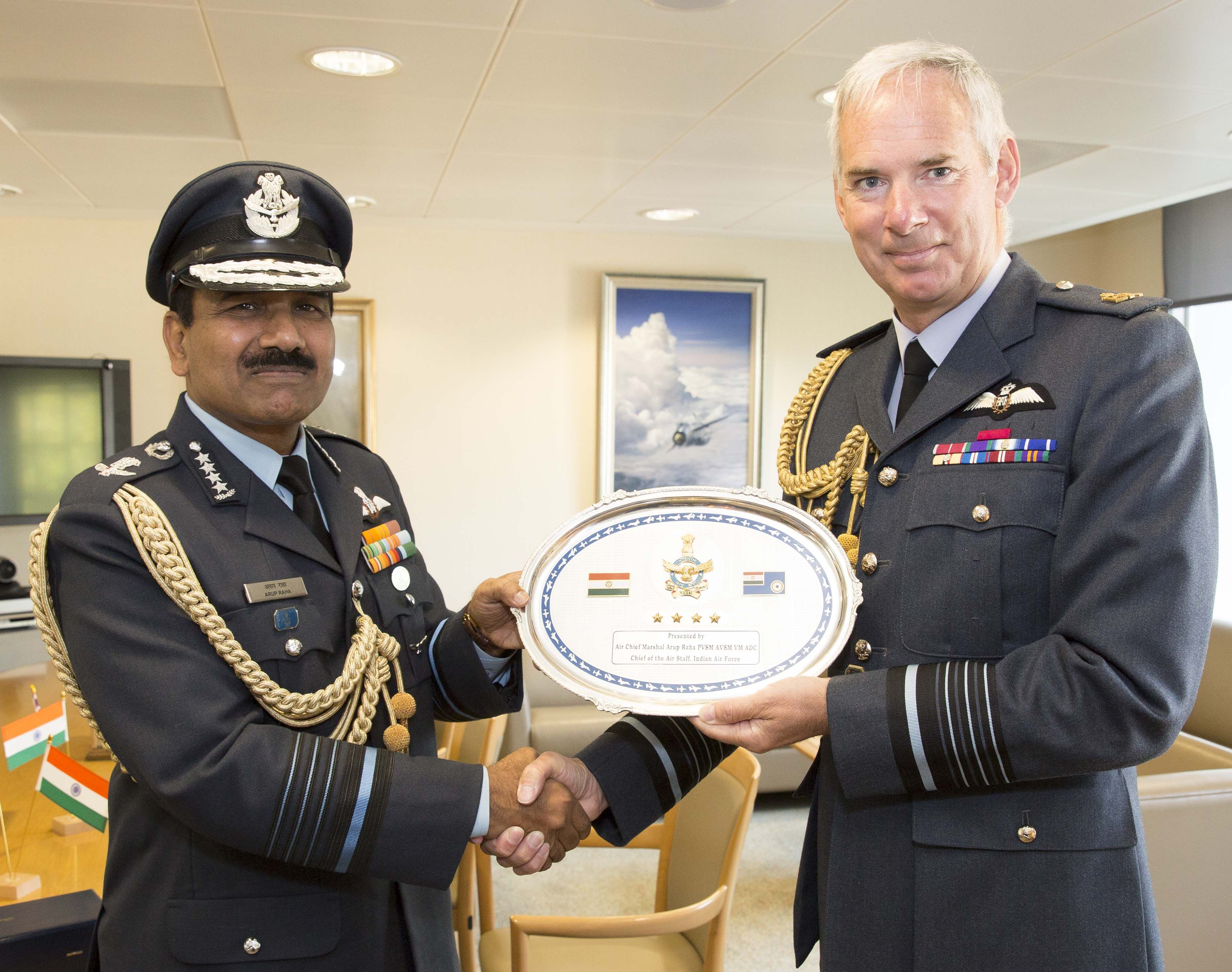 Air Chief visit to the United Kingdom