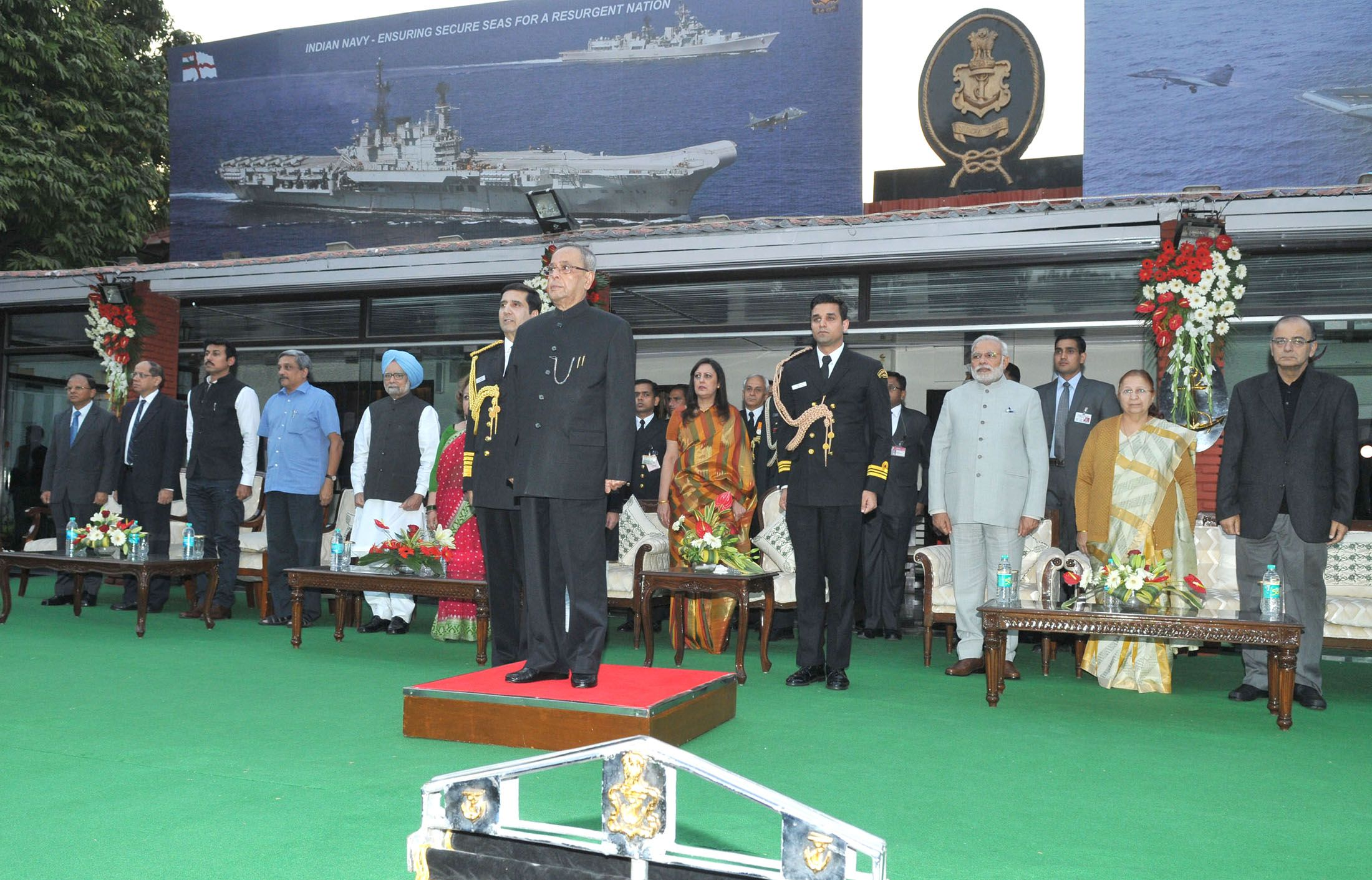 The occasion of Navy Day