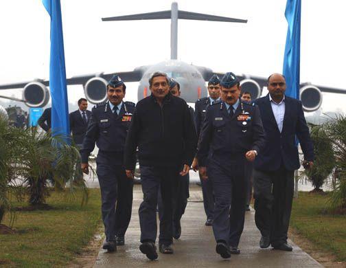 Defence Minister visits Hindan Air Base