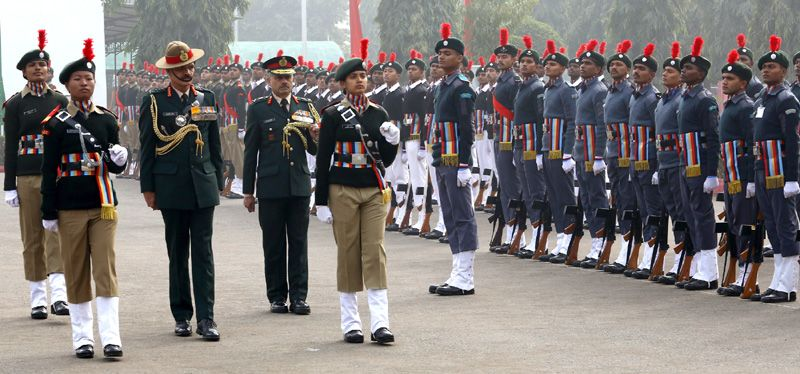 Guard of Honour at the DGNCC Republic Day Camp 2015