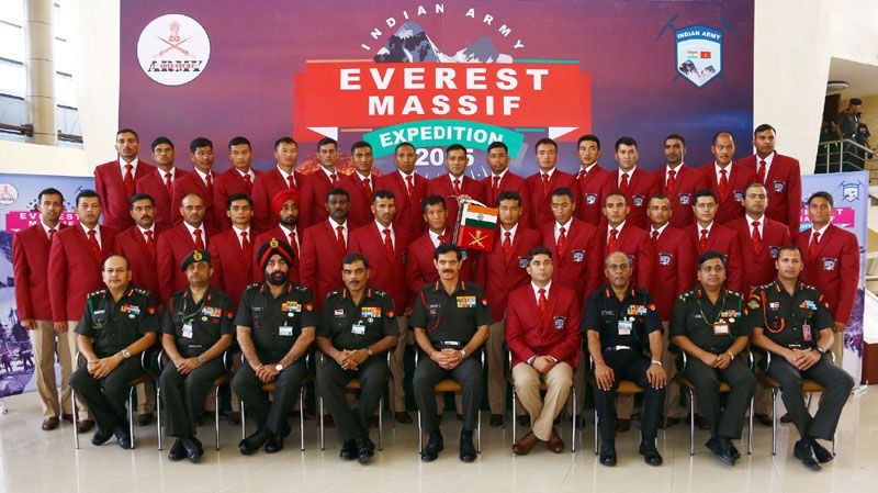 Indian Army Everest Massif Expedition 2015
