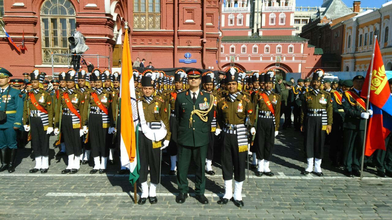 Victory Day Parade at Moscow