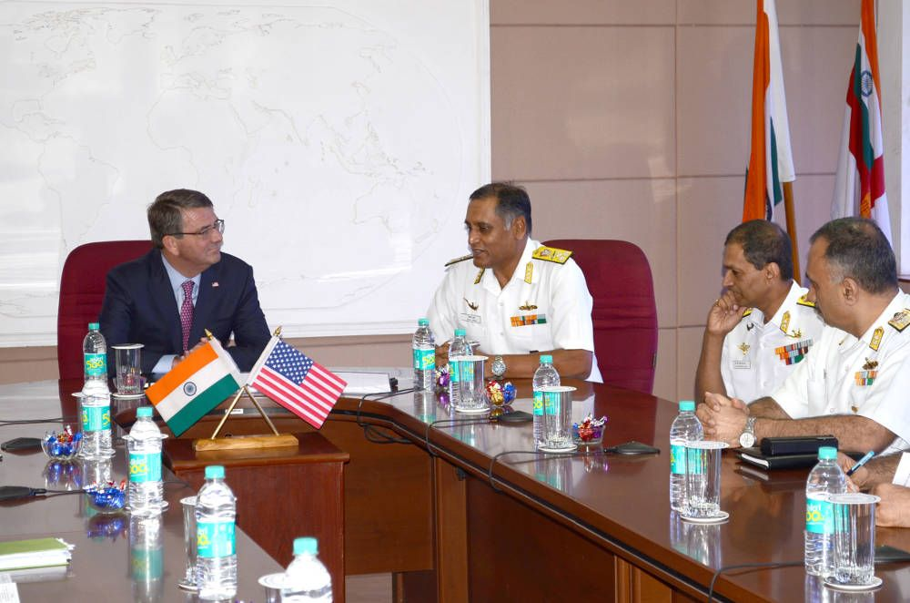 US Secretary of Defence Visits Eastern Naval Command