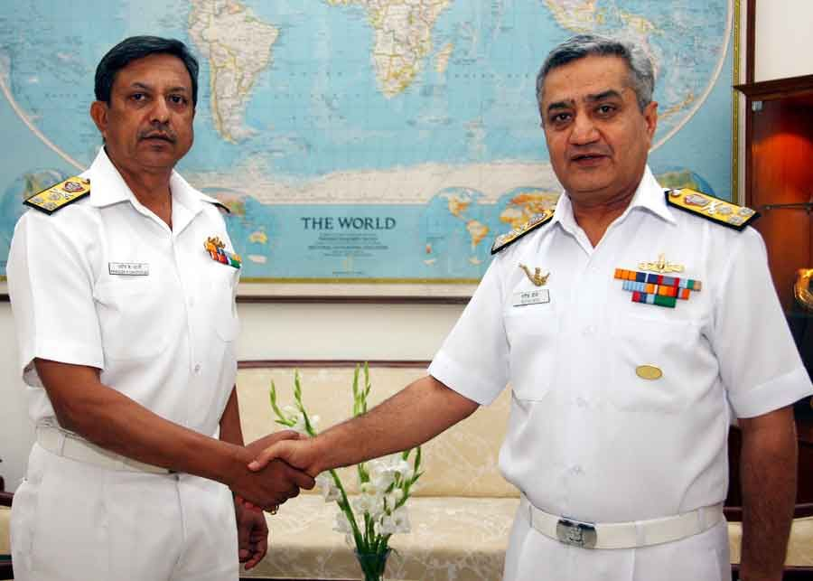 Vice Admiral Pradeep K Chatterjee takes over as Dy Chief of Naval Staff