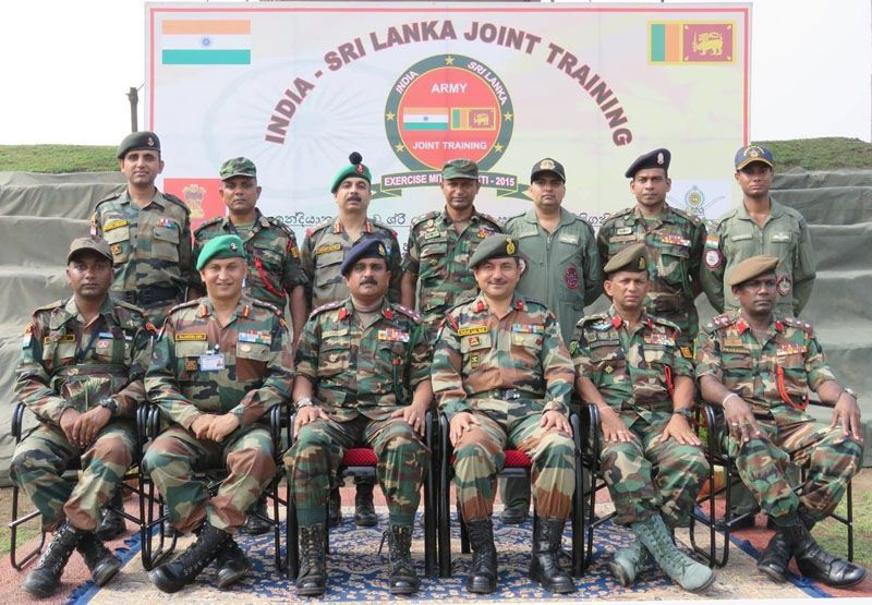 """Mitra Shakti-2015"": India-Sri Lanka Joint Training"