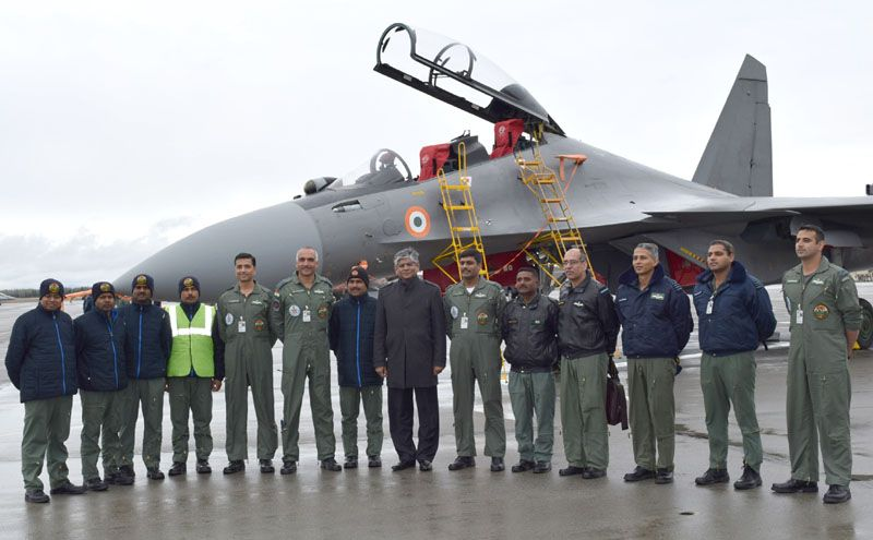 Indian Air Force contingent of Ex Red Flag 16-1