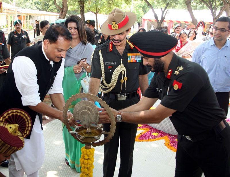 Inauguration of the Army Skill Training Centre (ASTC)