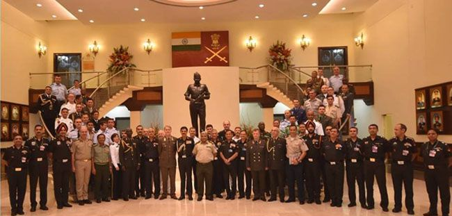 Indian Army Briefs Defence Diplomats