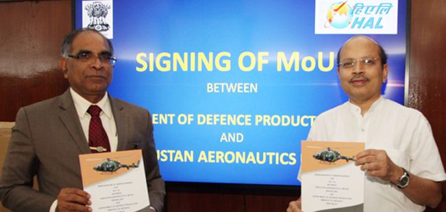 HAL Signs MoU with Government; Aims Higher Revenue