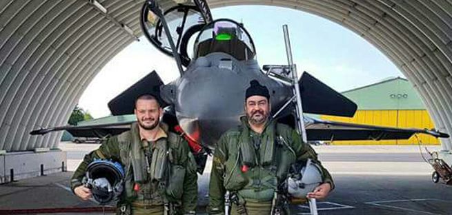 CAS flies Rafale fighter during his ongoing visit of France