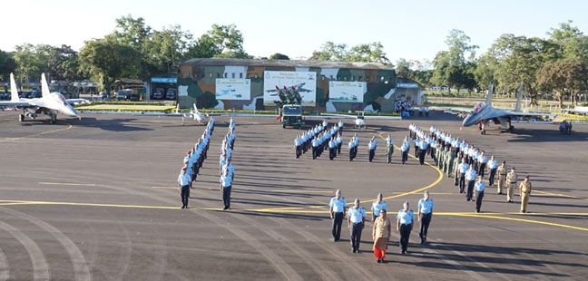 Air Warriors, at Airforce Station, Chabua