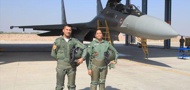Defence Minister Nirmala Sitharaman onboard Sukhoi 30MKI