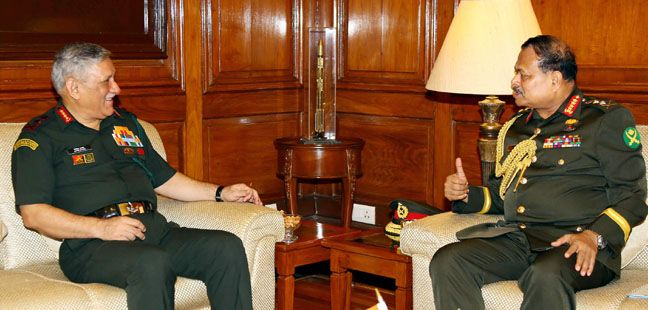 Chief of Army Staff, Bangladesh Army Visit