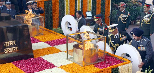 Occasion of Vijay Diwas