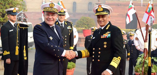 Visit of Chief of the Naval Staff French Navy