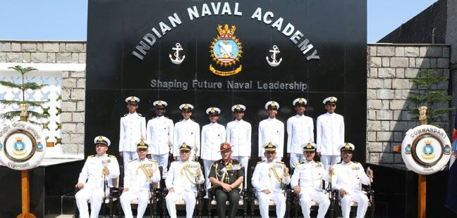 Passing Out Parade - Spring Term 2019 Held at Indian Naval Academy, Ezhimala
