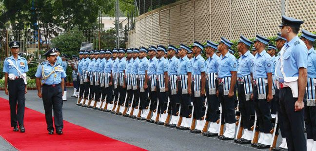 Air Chief Marshal RKS Bhadauria taking over as the Chief of the Air Staff of Indian Air Force
