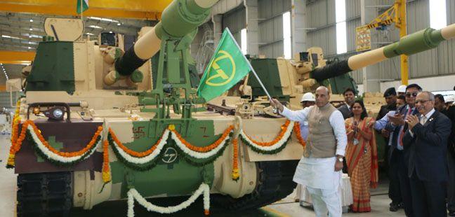 K9 VAJRA-T Gun from L&T Armoured System