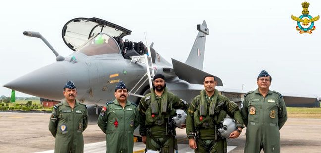 The First Rafale Aircraft