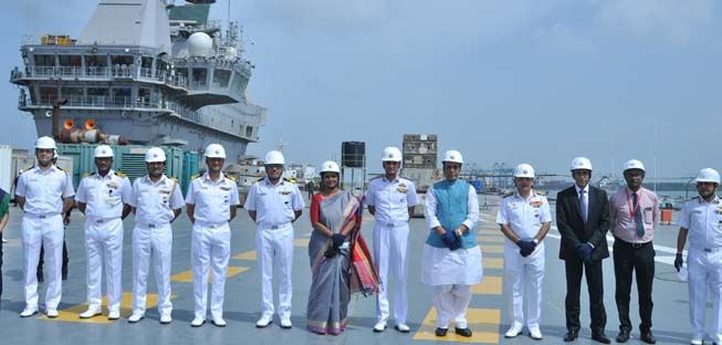 Review of construction of first Indigenous Aircraft Carrier