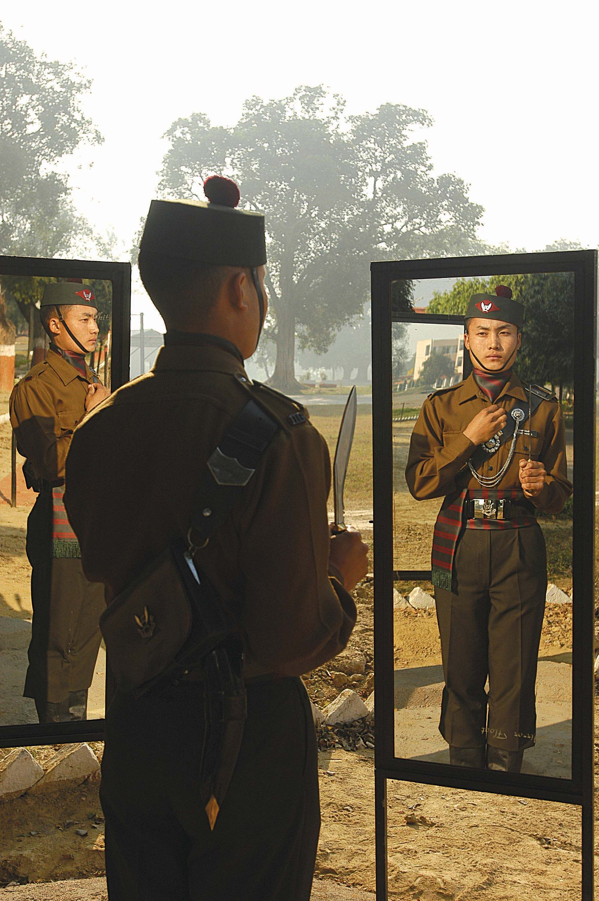 Soldierly Pride!