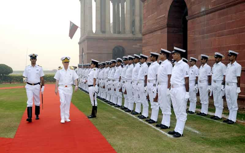 Commander of the Turkish Naval Force visiting India
